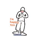 ヒップホップダンスのスタンプ(個別スタンプ:07)
