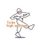 ヒップホップダンスのスタンプ(個別スタンプ:29)
