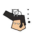 リーゼントおじさんと猫(個別スタンプ:07)
