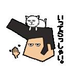 リーゼントおじさんと猫(個別スタンプ:22)