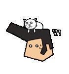 リーゼントおじさんと猫(個別スタンプ:24)