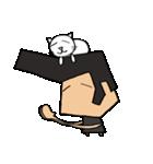 リーゼントおじさんと猫(個別スタンプ:37)