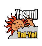 Yo! Tai-Yo! ワガママをリズムに乗せYo!!(個別スタンプ:10)