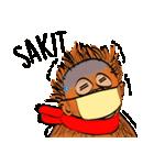 Baby Orangutan (Indonesian)(個別スタンプ:17)