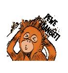 Baby Orangutan (Indonesian)(個別スタンプ:23)