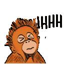 Baby Orangutan (Indonesian)(個別スタンプ:30)