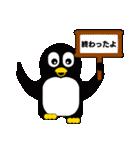 大学生になったペンギン(個別スタンプ:12)