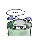 レタスの友達、知的ロボット「トロップ」(個別スタンプ:10)