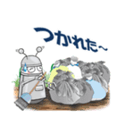 レタスの友達、知的ロボット「トロップ」(個別スタンプ:33)