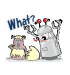 レタスの友達、知的ロボット「トロップ」(個別スタンプ:36)