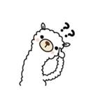 白いアルパカさん〜返信リアクション〜(個別スタンプ:29)