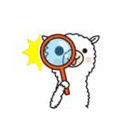 白いアルパカさん〜返信リアクション〜(個別スタンプ:31)