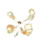 水玉フレンズ(個別スタンプ:39)