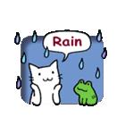 窓辺の白猫さん(個別スタンプ:06)