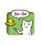 窓辺の白猫さん(個別スタンプ:10)