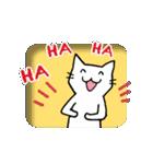 窓辺の白猫さん(個別スタンプ:13)
