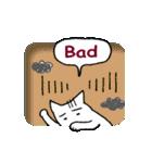 窓辺の白猫さん(個別スタンプ:14)