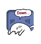 窓辺の白猫さん(個別スタンプ:15)