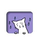窓辺の白猫さん(個別スタンプ:16)