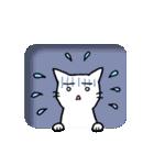 窓辺の白猫さん(個別スタンプ:17)