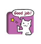 窓辺の白猫さん(個別スタンプ:22)