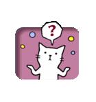 窓辺の白猫さん(個別スタンプ:27)