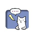 窓辺の白猫さん(個別スタンプ:28)