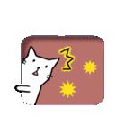 窓辺の白猫さん(個別スタンプ:29)