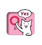 窓辺の白猫さん(個別スタンプ:30)