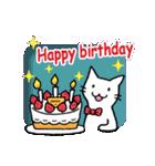 窓辺の白猫さん(個別スタンプ:35)