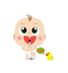 mini Baby(個別スタンプ:14)