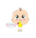 mini Baby(個別スタンプ:18)