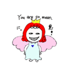 天使のテンちゃん(個別スタンプ:11)