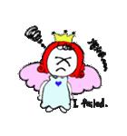 天使のテンちゃん(個別スタンプ:16)