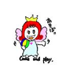 天使のテンちゃん(個別スタンプ:18)
