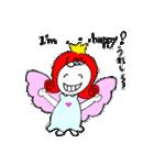 天使のテンちゃん(個別スタンプ:36)
