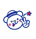 ☆マリンくまとペンギン★(個別スタンプ:7)