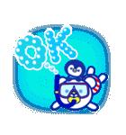 ☆マリンくまとペンギン★(個別スタンプ:11)