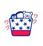 ☆マリンくまとペンギン★(個別スタンプ:23)