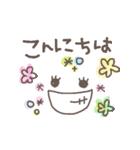 可愛い顔文字。日常編(個別スタンプ:02)