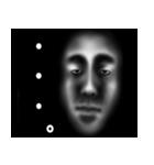 暗闇の顔(個別スタンプ:19)