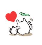 猫、感情表現する。(個別スタンプ:39)