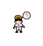 がんばれ野球部2(個別スタンプ:34)