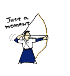 なんかスポーツ(個別スタンプ:17)