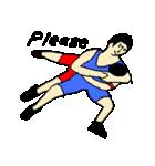 なんかスポーツ(個別スタンプ:21)
