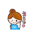 関西弁を話す女の子(個別スタンプ:01)