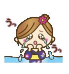 着物(浴衣)の女の子【お正月のご挨拶】(個別スタンプ:25)