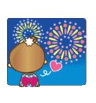 着物(浴衣)の女の子【お正月のご挨拶】(個別スタンプ:32)