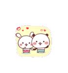 (いちゃ+いちゃ)× 24h= ♡(個別スタンプ:29)