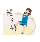 コップのフチ子~リアル編~(個別スタンプ:8)